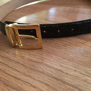 WCM New York Italian Calfskin Leather Belt